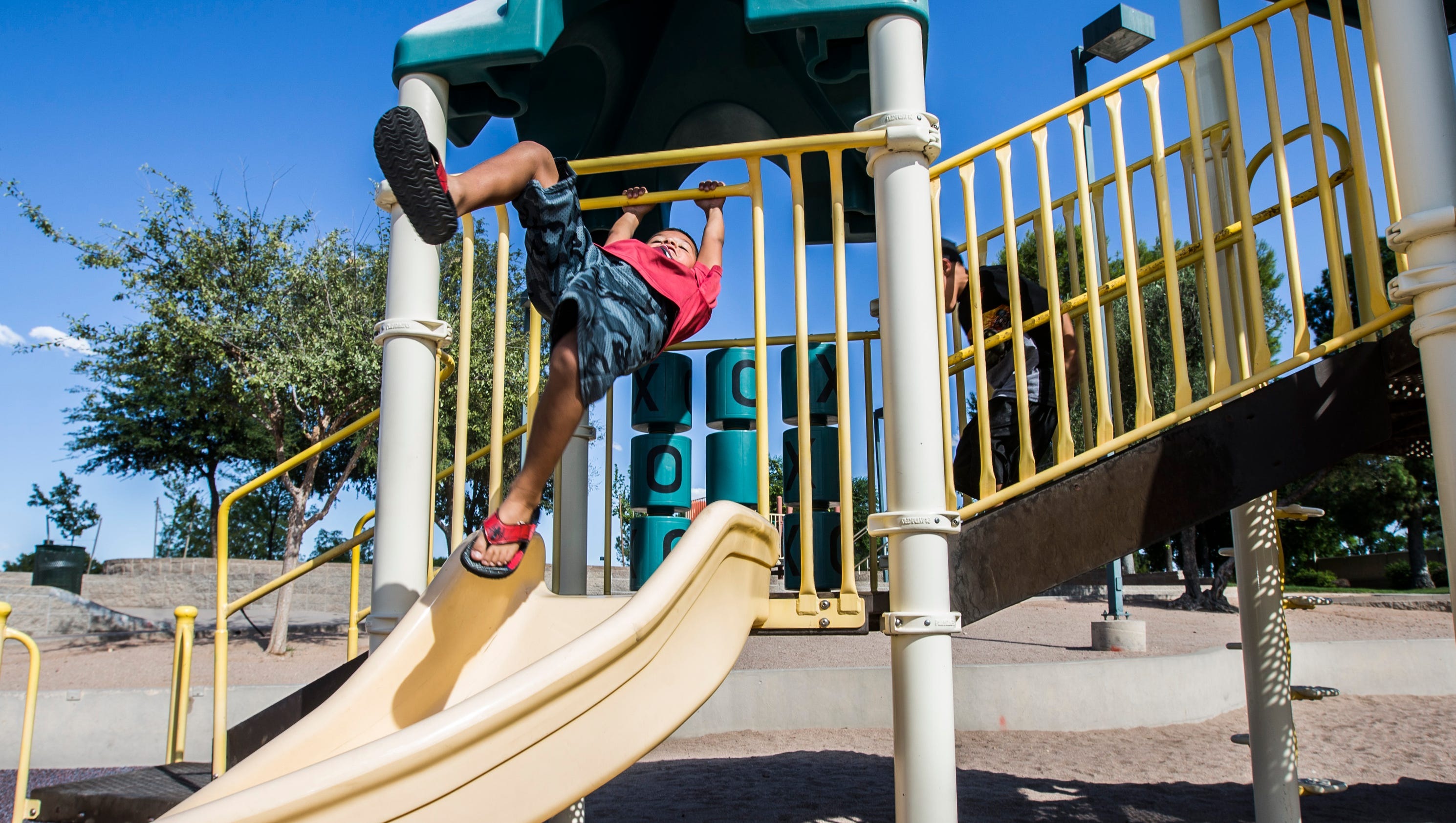 Accessible playground coming to dobson ranch park in mesa for Things to do in central park today