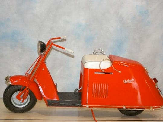 The Cushman scooter company started in 1903 in Lincoln,