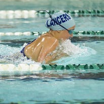 Brookfield Central's Coco Weiner makes her way in the 200-yard individual medly during the 28th Annual Early Bird Swim Invite at Wauwatosa West High School on Aug. 20.