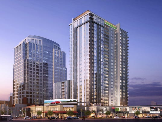 Hines downtown Phoenix rendering