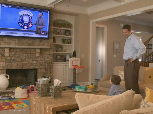 Will Markwell, a 3-year-old with Down syndrome, is an admirer of 11Alive's Wizometer, which forecasts the high and low temperatures of the day. The icon is placed on air and online for viewers.