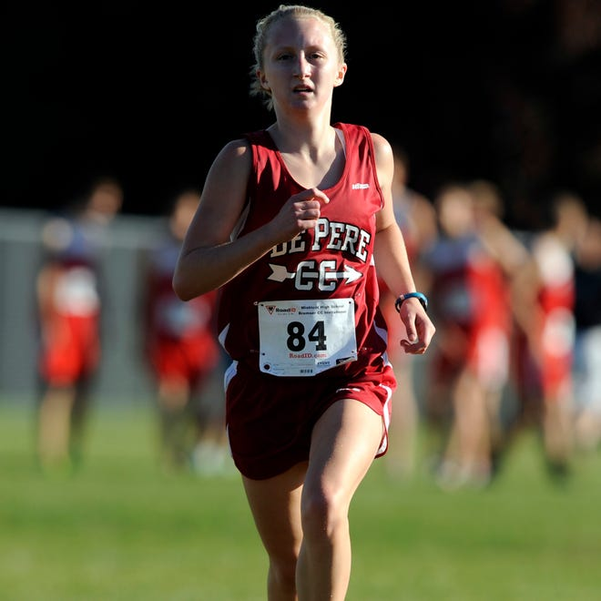 De Pere's Olivia De Cleene finished fifth at the Bremser Invitational in Mishicot on Sept. 25.
