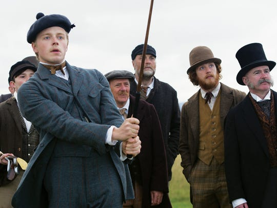 """Jack Lowden stars in """"Tommy's Honour,"""" playing at Small"""