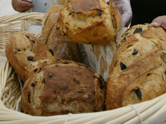 Fresh bread at the open market in Fountain Hills.