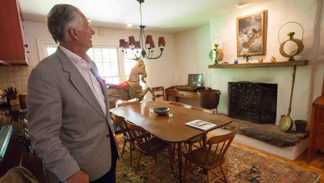 Although the market for $1 million-plus houses is languishing in New Castle County, James Stein hopes a buyer will love his $1.175 million house in Centreville as much as he does.