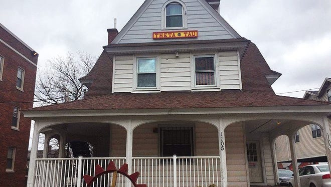 The Theta Tau fraternity house in Syracuse, N.Y.   Syracuse University Chancellor Kent Syverud announced the fraternity was suspended over videos with racist, sexist content.  Syverud  described the video involving members of Theta Tau, a professional engineering fraternity, as racist, anti-Semitic, homophobic, sexist and hostile to people with disabilities. He said the videos were turned over to the school's Department of Public Safety for possible disciplinary or legal action.
