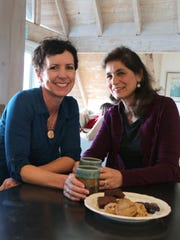 mong Friends co-founders Suzie Miller (L), Lizann Anderson