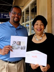 Reginald Hendrix and Marilyn Williams of the Salem-Keizer NAACP want to get out the vote and spread word of the organization's fundraiser, which is coming up Saturday, Oct. 15.