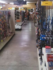 Chase Outdoors in Rothschild handles all types of fishing equipment from rods and reels and fish locators to plastic lures, jigs and live bait.