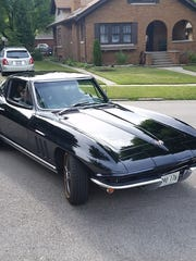 Gary Pasch's 1965 Corvette coupe was stolen June 22 from the parking lot of an Indianapolis motel where the Illinois man and his wife were staying while attending a car show.