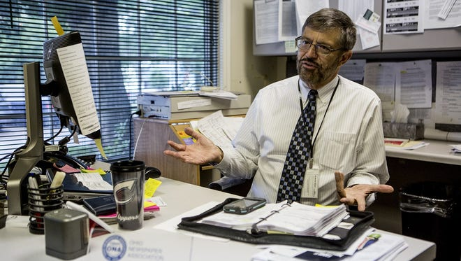 Chuck Peterson, editor of the Granville Sentinel, will be retiring at the end of the month.