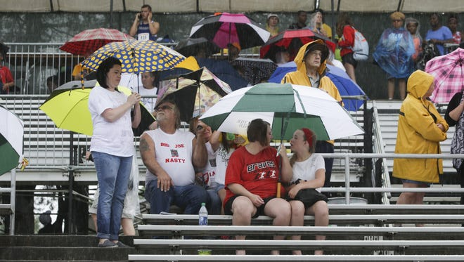FILE – Rain forced postponements in softball and baseball across the Indianapolis area.