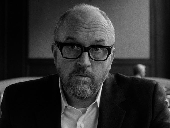 The Nov. 9 premiere of Louis C.K.'s new movie, 'I Love