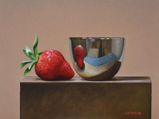 TrishCoonrod-StrawberryandReflectiveBowl