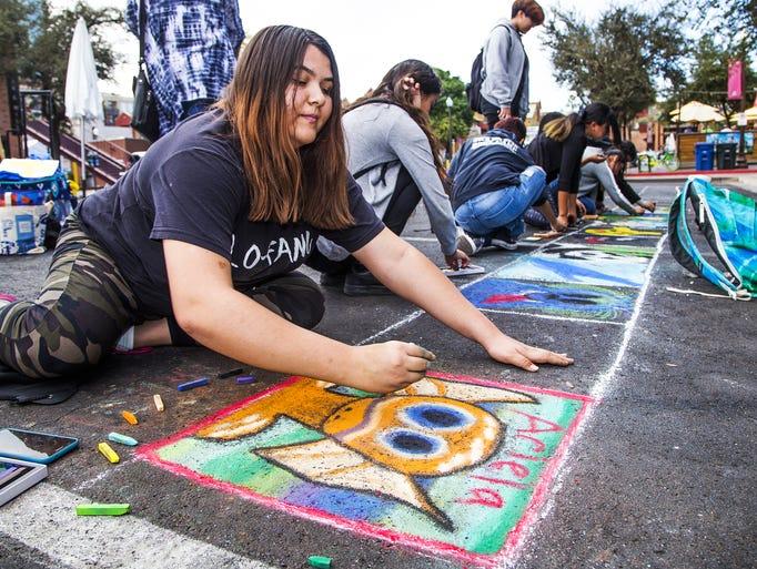 Acacia Raley, 19, Phoenix, a student at Arizona State