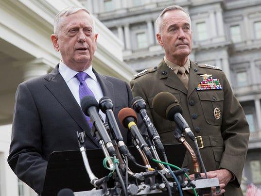 Defense Secretary Mattis Makes Statement On North Korea