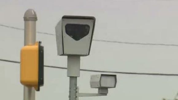 Red light camera.