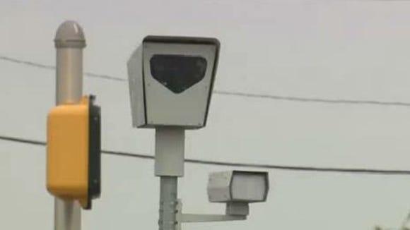 Red light camera.