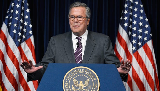 Jeb Bush, who is considering a run for president.