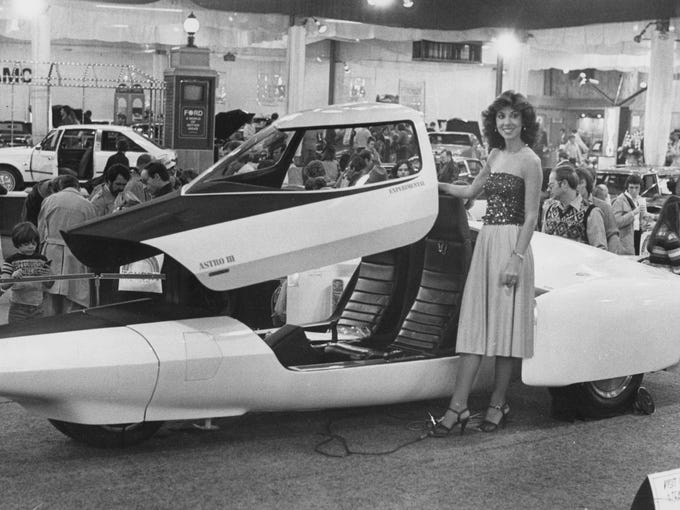 Indy Auto Show Spokesmodels Through The Years - Car show indiana state fairgrounds