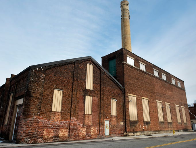 The former steam plant at Pershing and Philadelphia