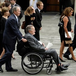 Before dying, Barbara Bush said she would miss George but was going to 'a beautiful place'