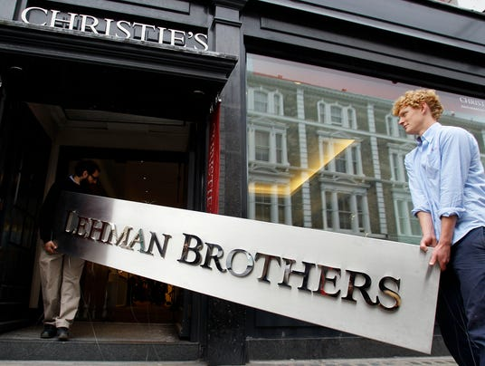 AP Britain Lehman Brothers Auction