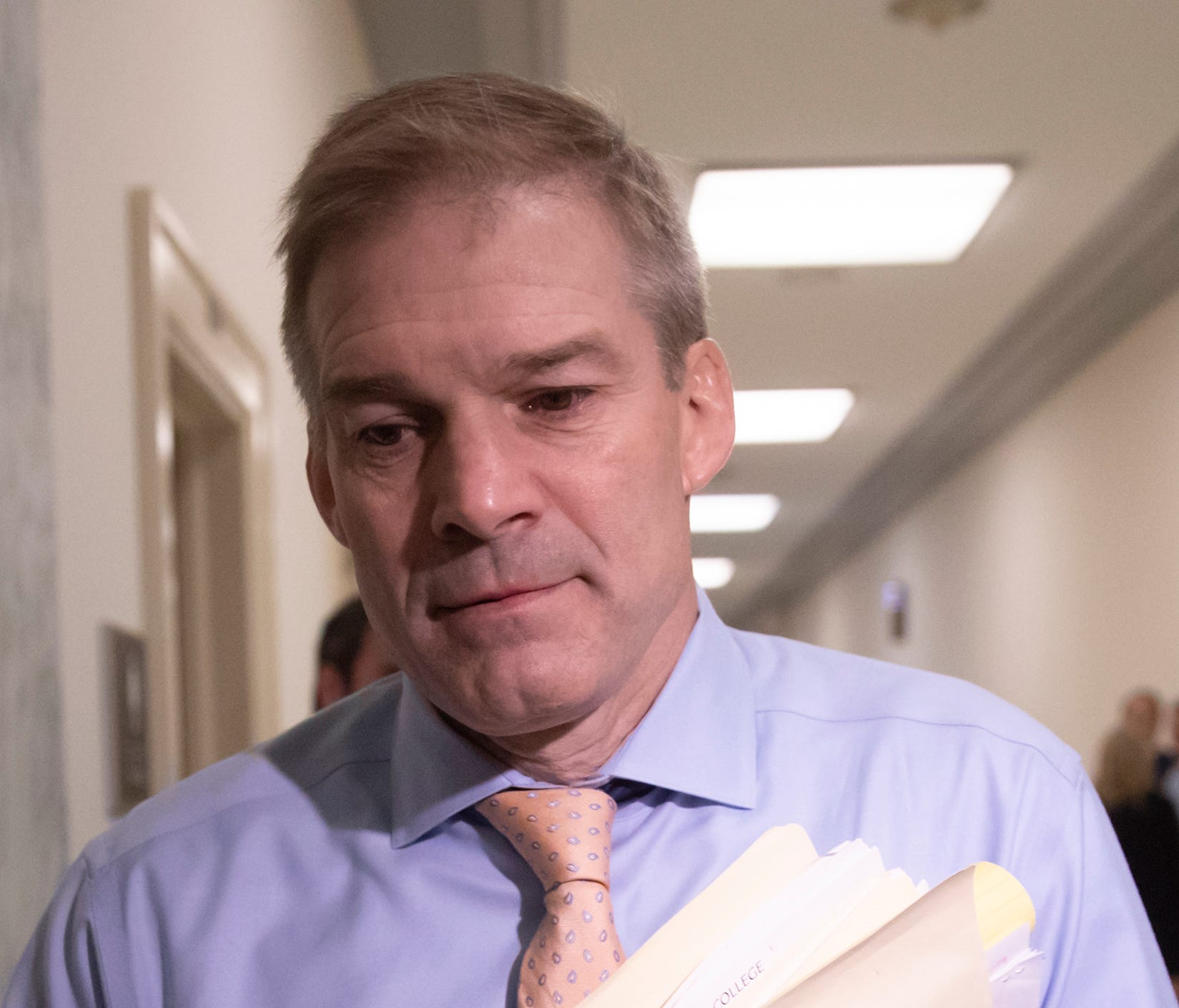 Rep. Jim Jordan (R-Ohio) was Ohio State's assistant wrestling coach from 1986-94.