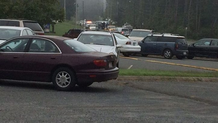 A student was shot at Albemarle Senior High School in Stanly County on Tuesday morning and police say the shooter is in custody.
