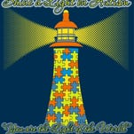 Autism awareness T-shirts with this design are on sale through April 6.