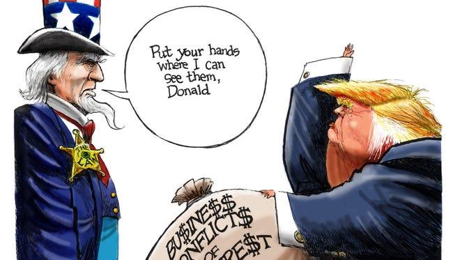 Cartoon for Dec. 19, 2016.