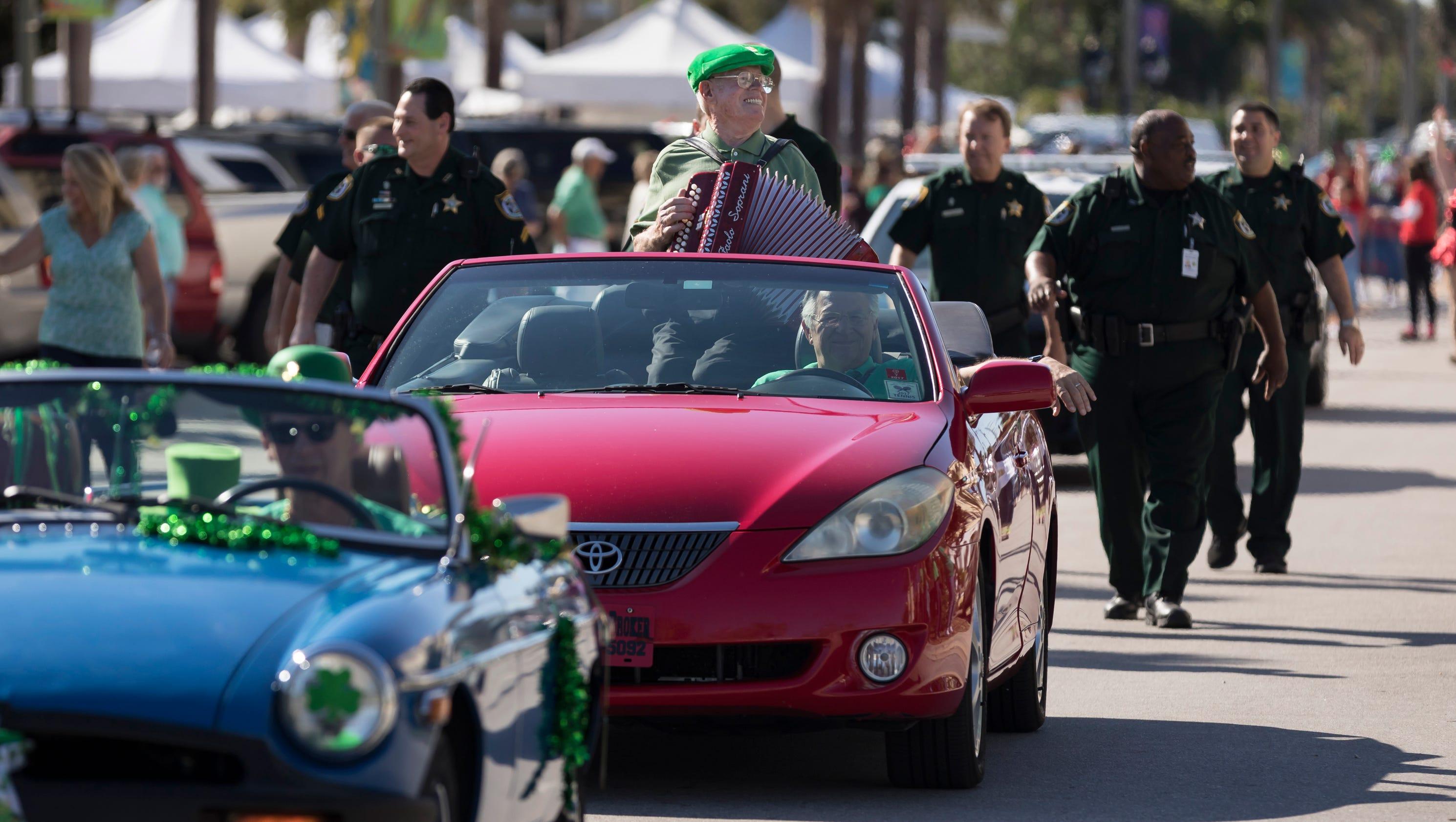 Vero Beach St Patrick Parade
