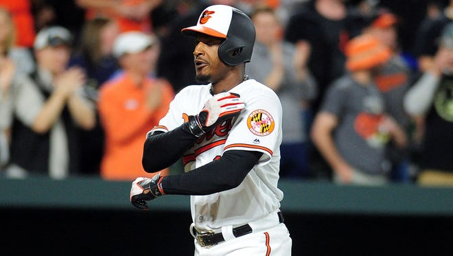 Adam Jones said fans at Fenway were making racist remarks during Monday's game.