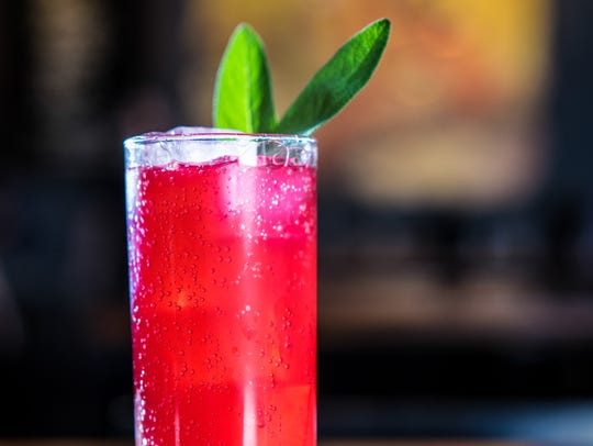 The Miss Nightingale mocktail is a non-alcoholic drink