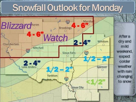 Blizzard outlook (Photo: National Weather Service)