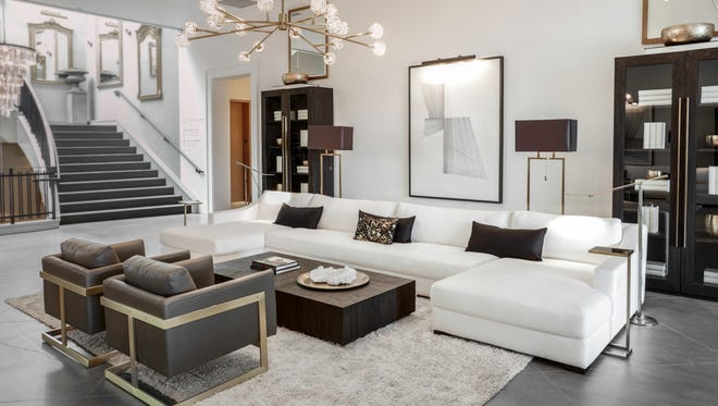 The RH Modern collection from Restoration Hardware is debuting this month nationwide.