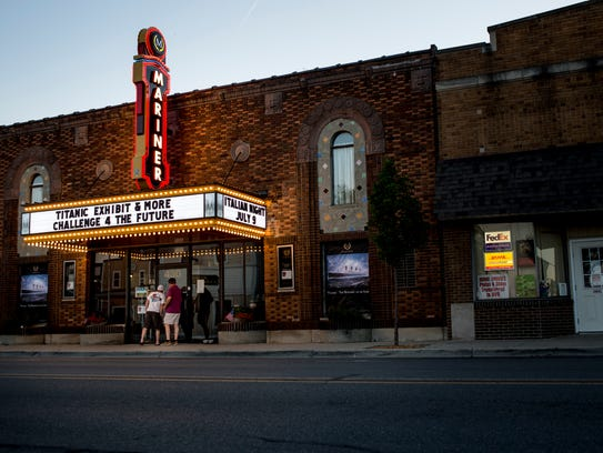 The Mariner Theater, 430 S. Water St., will raise money