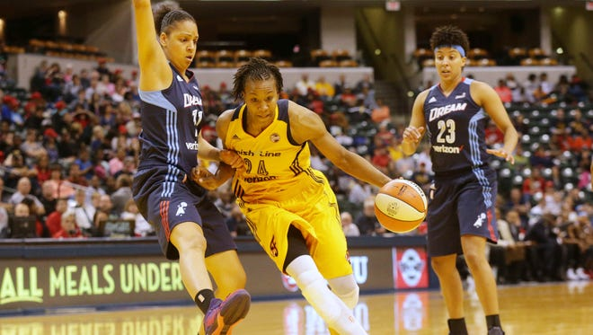 The Indiana Fever's Tamika Catchings was named one of the WNBA's 20 greatest players in league history on Tuesday.