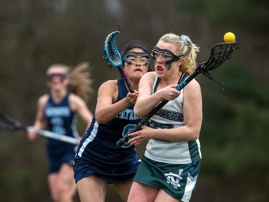 Freehold Township Girls Lacrosse vs Colts Neck in Colts