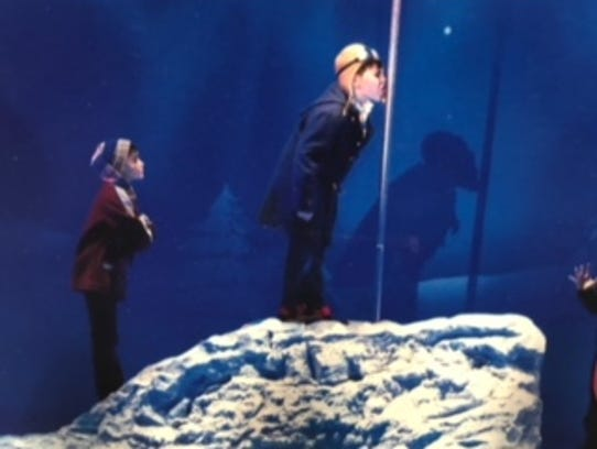 """As Flick in the national tour of Broadway's """"A Christmas"""