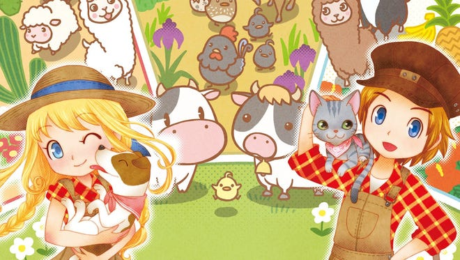 Story of Seasons: Trio of Towns for Nintendo 3DS.