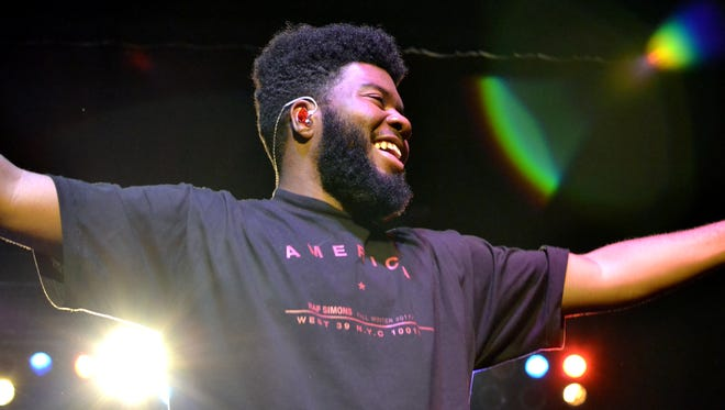 Khalid, pictured here at a sold-out show at the Rave's Eagles Ballroom, has canceled his Summerfest headlining show for 2021.