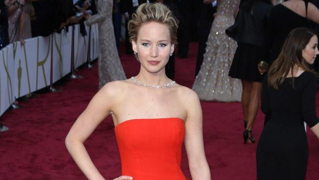 Jennifer Lawrence at the Oscar in March