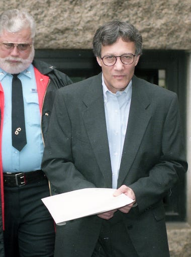 Tom Capano in court January 8, 1997.