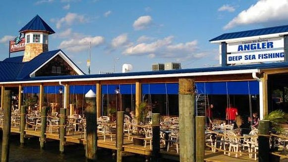 The Angler, located on the bay in Ocean City, features happy hour specials from 3-6 p.m. daily.