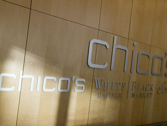 Chico's FAS offers three brands: Chico's, White House Black Market and Soma.