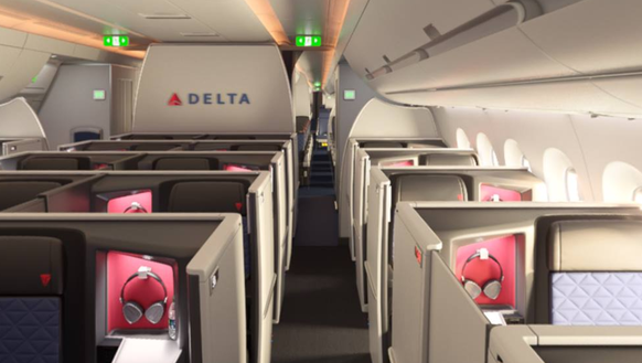 Coming To Delta Business Class Suites With Doors
