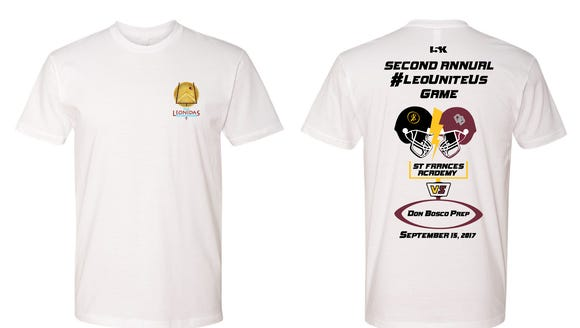 Don Bosco will be selling t-shirts for the second annual