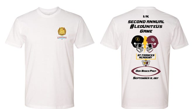 Don Bosco will be selling t-shirts for the second annual LeoUniteUs game beginning Wednesday.