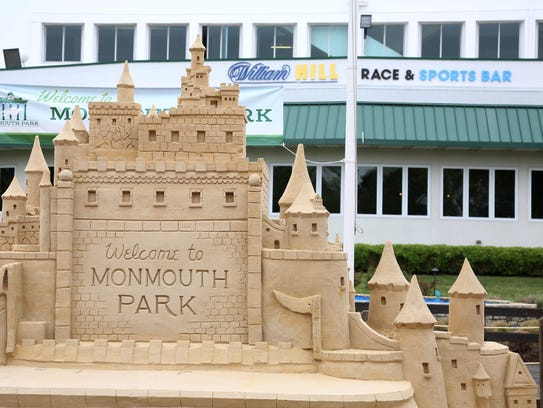The Sand Castle that sits in front of the William Hill